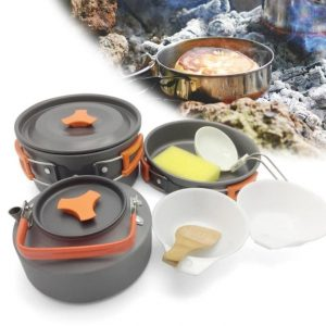 2-3 Persons Cookware Set