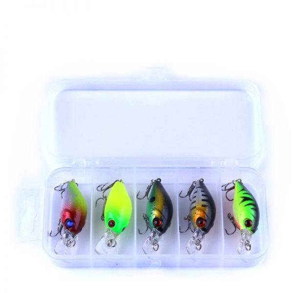 5pc 4.2g Fishing Lure Kit