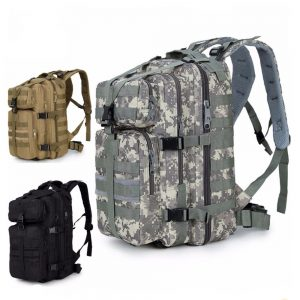 Military Tactical Assault Molle Pack