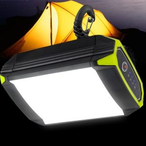 Mobile Power Bank Flashlight With USB Port